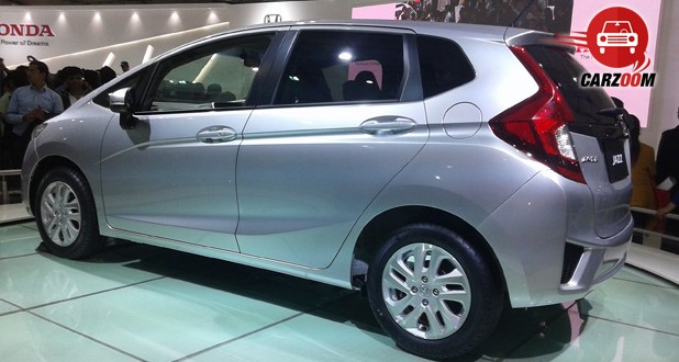 Auto Expo 2014 Honda Jazz Exteriors Side View