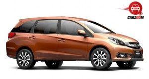 Auto Expo 2014 Honda Mobilio Exteriors Overall
