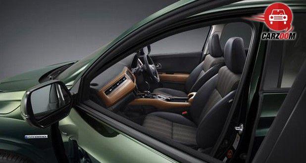 Auto Expo 2014 Honda Vezel Interiors Seats