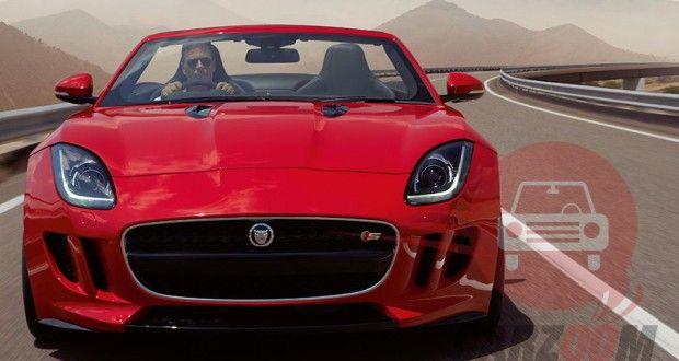 Auto Expo 2014 Jaguar F-Type Exteriors Front View