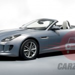 Auto Expo 2014 Jaguar F-Type Exteriors Overall