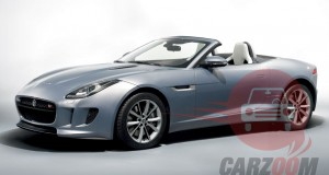 Auto Expo 2014 Jaguar F-Type Exteriors Overall