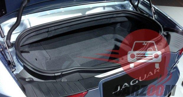 Auto Expo 2014 Jaguar F-Type Interiors Bootspace