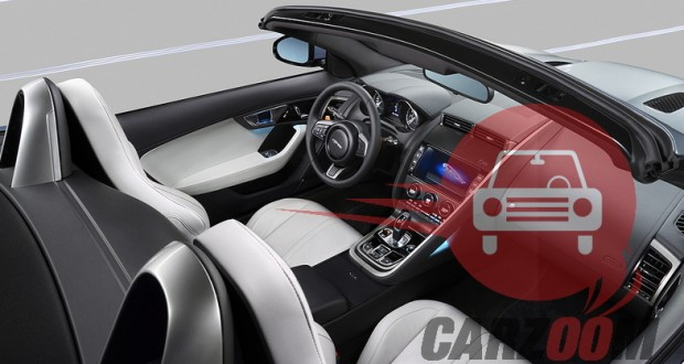 Auto Expo 2014 Jaguar F-Type Interiors Dashboard