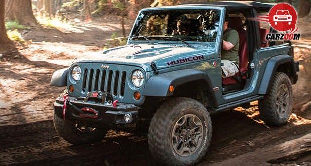 Auto Expo 2014 Jeep Wrangler Exteriors Overall
