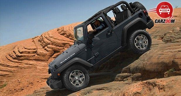 Auto Expo 2014 Jeep Wrangler Exteriors Side View