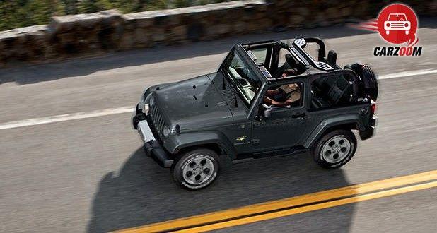 Auto Expo 2014 Jeep Wrangler Exteriors Top View