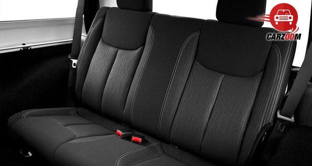 Auto Expo 2014 Jeep Wrangler Interiors Seats