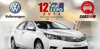 Auto Expo 2014 New Toyota Corolla