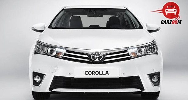 Auto Expo 2014 New Toyota Corolla Exteriors Front View