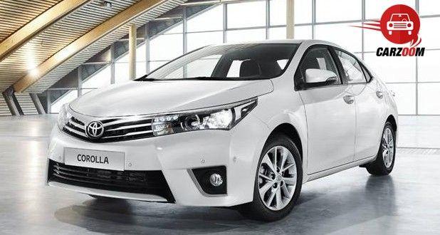 Auto Expo 2014 New Toyota Corolla Exteriors Overall
