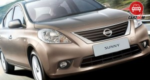 Auto Expo 2014 Nissan Sunny facelift Exteriors Front View