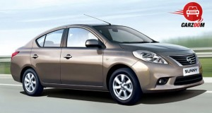 Auto Expo 2014 Nissan Sunny facelift Exteriors Overall