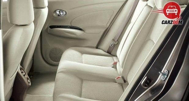 Auto Expo 2014 Nissan Sunny facelift Interiors Seats
