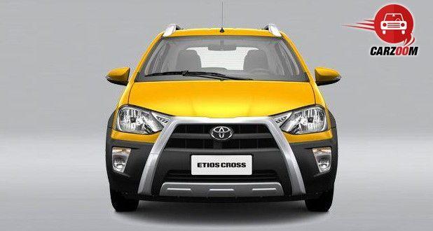 Auto Expo 2014 Toyota Etios Cross Exteriors Front View