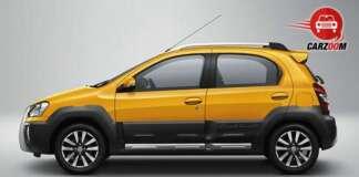 Auto Expo 2014 Toyota Etios Cross Exteriors Side View