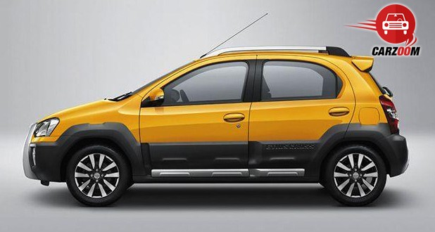 Auto Expo 2014 Toyota Etios Cross Exteriors Side View