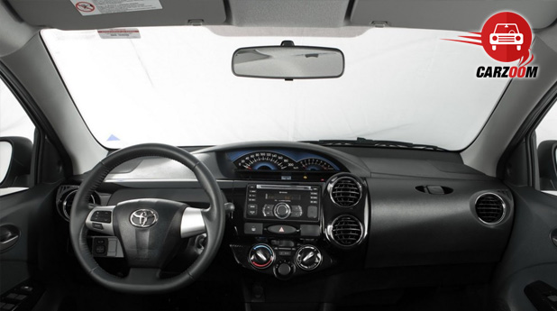 Auto Expo 2014 Toyota Etios Cross Interiors Dashboard