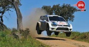 Auto Expo 2014 Volkswagen 2013 WRC Exteriors Overall