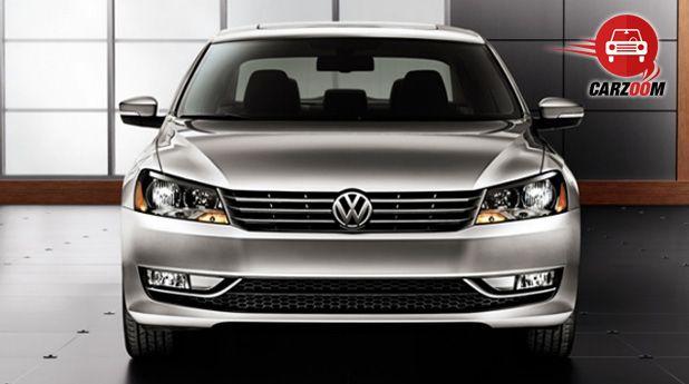 Auto Expo 2014 Volkswagen New Passat Exteriors Front View