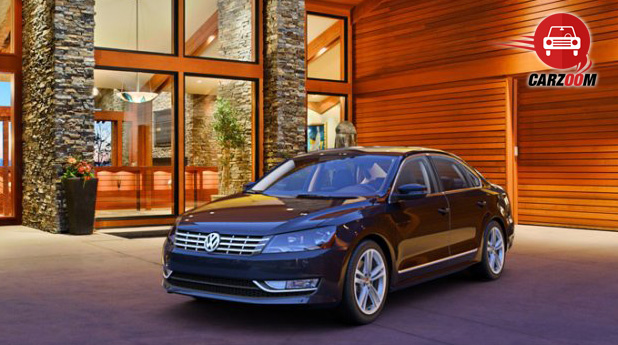 Auto Expo 2014 Volkswagen New Passat Exteriors Top View