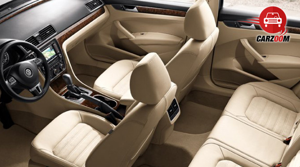 Auto Expo 2014 Volkswagen New Passat Interiors Seats