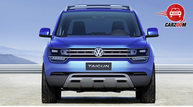 Auto Expo 2014 Volkswagen Taigun Exteriors Front View