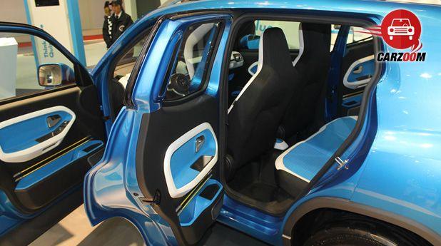 Auto Expo 2014 Volkswagen Taigun Interiors Seats