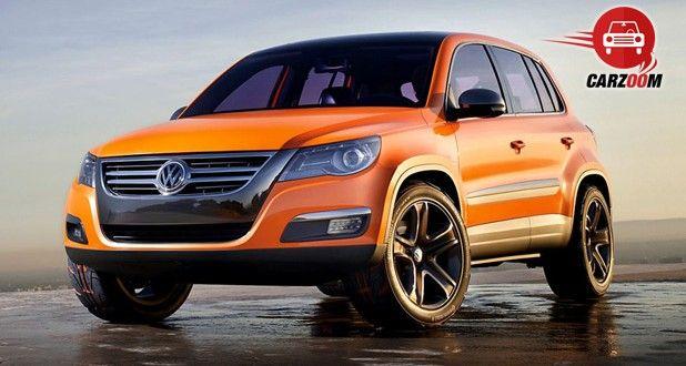 Auto Expo 2014 Volkswagen Tiguan Exteriors Front View