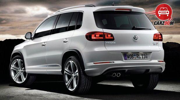 Auto Expo 2014 Volkswagen Tiguan Exteriors Side View