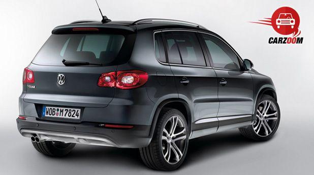 Auto Expo 2014 Volkswagen Tiguan Exteriors Top View