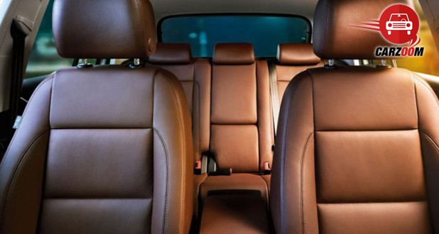 Auto Expo 2014 Volkswagen Tiguan Interiors Seats