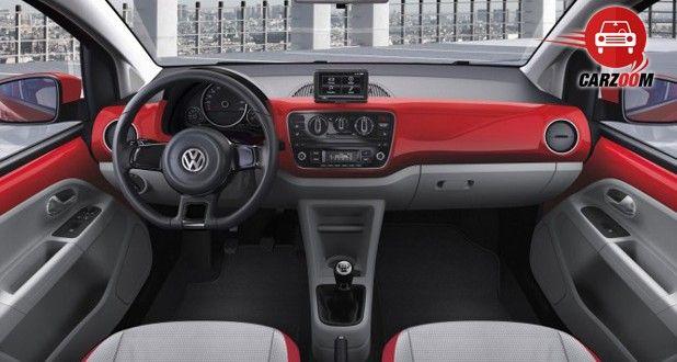 Auto Expo 2014 Volkswagen Up Interiors Dashboard