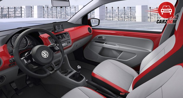 Auto Expo 2014 Volkswagen Up Interiors Seats