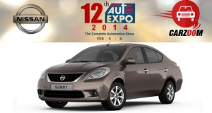 Auto Expo News & Updates - Nissan to Showcase Nissan Sunny facelift