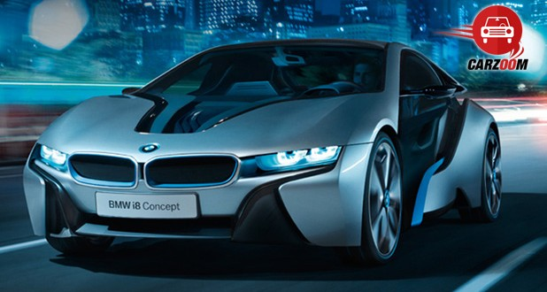 BMW i8 Hybrid Exteriors Front View