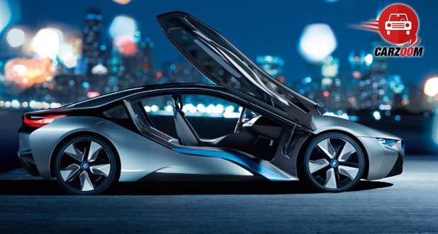 BMW i8 Hybrid Exteriors Side View