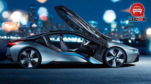 BMW i8 Hybrid Exteriors Side View