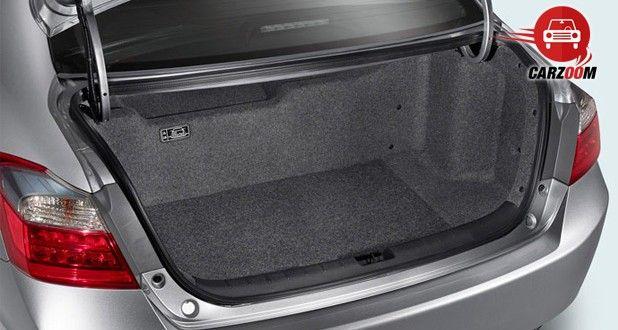 Honda Accord Hybrid Interiors Bootspace