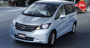 Honda Freed Exteriors Front View