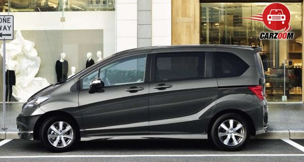 Honda Freed Exteriors Side View