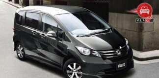 Honda Freed Exteriors Top View