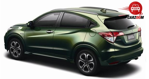 Honda Vezel Exteriors Side View