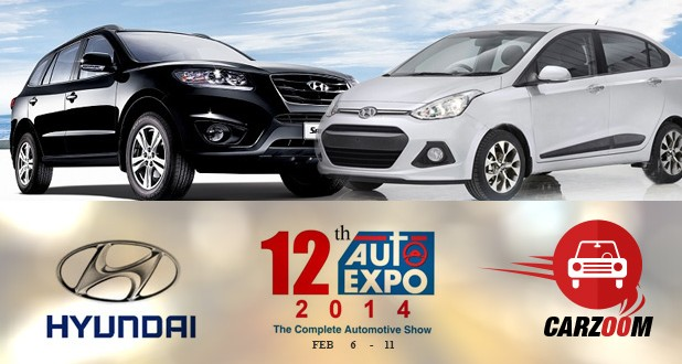 Hyundai to showcase Grand i10 (sedan) & All New Santa Fe (SUV)