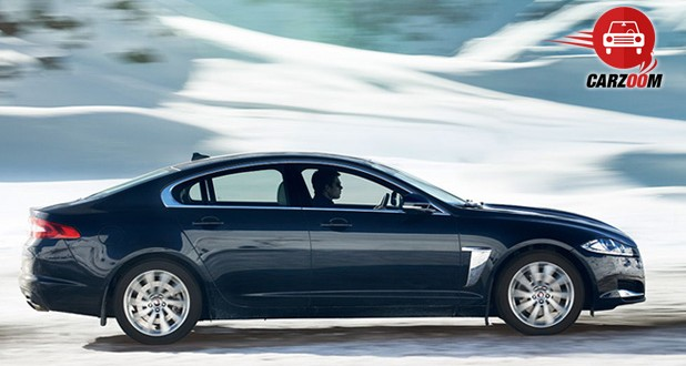 Jaguar XF Exteriors Side View