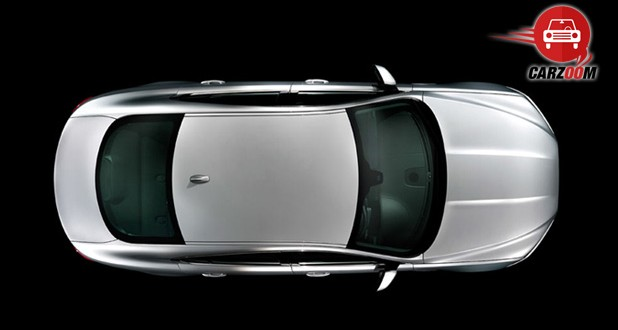 Jaguar XF Exteriors Top View
