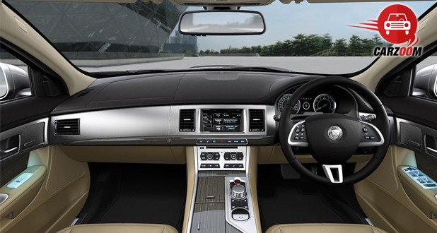 Jaguar XF Interiors Dashboard