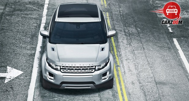 Land Rover Range Rover Evoque Exteriors Top View