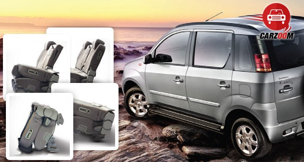 Mahindra Quanto Gets Yoga Seats For Its Middle Row