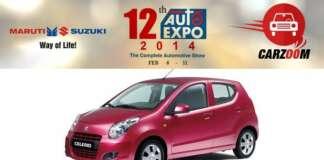 Auto Expo News & Updates - Maruti Suzuki to Showcase Maruti Suzuki Celerio